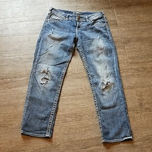 Silver Jeans Sam Boyfriend Style Jeans 28